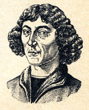 Vintage retro drawing image portrait Copernicus Royalty Free Stock Images