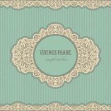Vintage retro frame Royalty Free Stock Photo