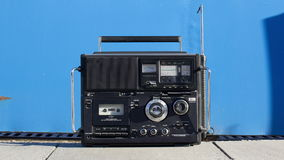 Vintage and retro hifis and radios stock video