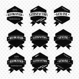 Vintage Retro Icons And Labels Royalty Free Stock Photography