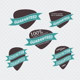 Vintage Retro Icons And Labels Royalty Free Stock Photo