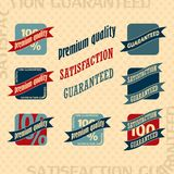 Vintage Retro Icons And Labels Stock Photo