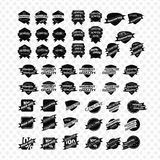 Vintage Retro Icons And Labels Stock Image