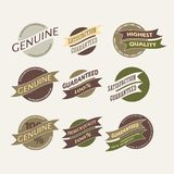 Vintage Retro Icons And Labels Stock Images