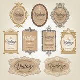 Vintage Retro Labels Royalty Free Stock Images
