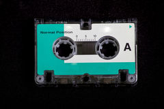Vintage Retro Micro Cassette Tape Royalty Free Stock Photography