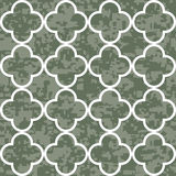 Seamless Clover Pattern Background Stock Photography