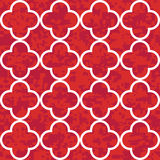 Seamless Clover Pattern Background Royalty Free Stock Images