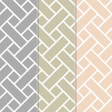 Seamless Basket Weave Background Pattern Stock Image