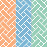 Seamless Basket Weave Background Pattern Stock Photo
