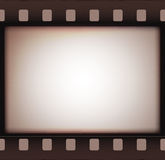 Vintage retro old film strip background. Vector illustration Royalty Free Stock Images