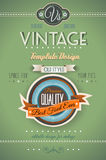Vintage retro page template for a variety of purposes: Stock Photos