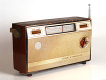 Vintage Retro Radio. Transistor box Royalty Free Stock Images