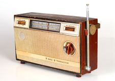 Vintage Retro Radio. Transistor box Royalty Free Stock Image
