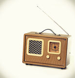 Vintage retro radio player Royalty Free Stock Photos