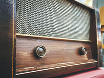 Vintage Retro Radio Sound Audio Decoration object Royalty Free Stock Photos