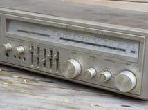 Vintage retro Radio Stock Photo