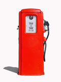 Vintage (retro) red gasoline pump Royalty Free Stock Photo