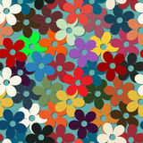 Vintage retro style floral Royalty Free Stock Image