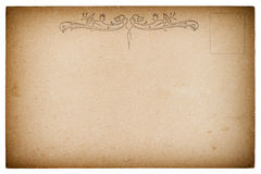 Vintage retro style paper background texture Royalty Free Stock Images
