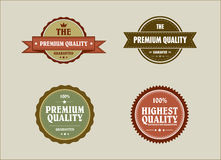 Vintage retro styled label. With premium quality and highest quality Stock Image
