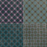 Vintage-retro texture background pattern tablecloth in a cage Royalty Free Stock Photos