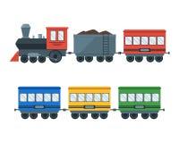 Free Vintage Retro Transportation Train. Vector Stock Photos - 78252133