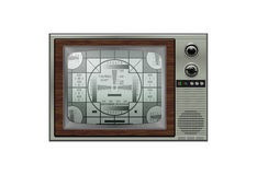 Vintage Retro TV Stock Photos