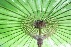 Vintage retro umbrella asian style Stock Image