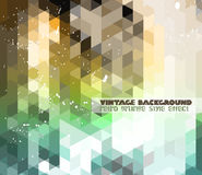 Vintage RetroDesign flyer template. Abstract background Stock Photos