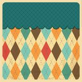 Vintage Rhombus Background Menu Royalty Free Stock Images
