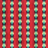 Vintage rhombus seamless pattern Stock Image
