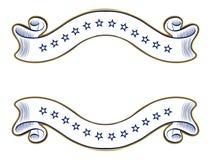 Vintage ribbon emblem Royalty Free Stock Photos