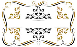 Vintage ribbon emblem Royalty Free Stock Photography
