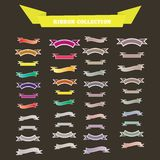 Vintage Ribbons Collection. vector illustration. Vintage Styled Ribbons Collection. vector illustration Royalty Free Stock Photo