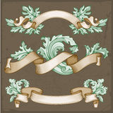 Vintage ribbons vector illustration