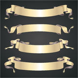 Vintage ribbons Stock Photography