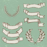 Vintage ribbons Royalty Free Stock Photo