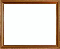 Vintage rich classic golden rustic quality frame Royalty Free Stock Images