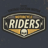 Vintage riders typographic for t-shirt design,tee graphic,vector Royalty Free Stock Images