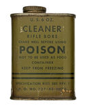Vintage rifle cleaner bore can Stock Photos