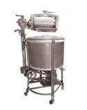 Vintage ringer washing machine isolated Royalty Free Stock Image