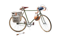 Vintage road bicycle Stock Photos