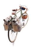 Vintage road bicycle Stock Images