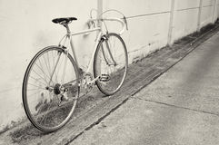 Vintage road bicycle Stock Photography