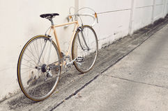 Vintage road bicycle Royalty Free Stock Images