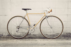 Vintage road bicycle Royalty Free Stock Photography