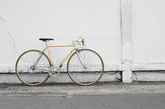 Vintage road bicycle Stock Images