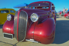 Vintage Roadster. A restored vintage roadster from the 1930's Royalty Free Stock Photos
