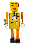 Vintage Robot. Vintage Toy Robot stock photos